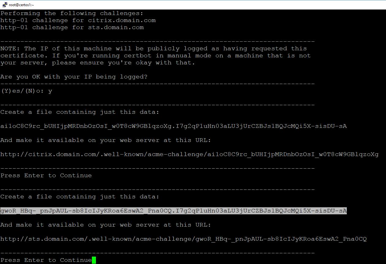 Lets Encrypt San Certificate Virtual Hawk