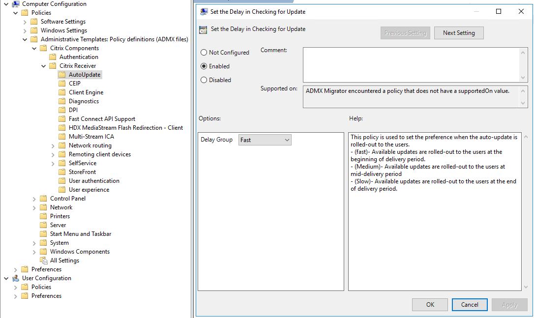Citrix Receiver Auto-update – VIRTUAL-HAWK COM