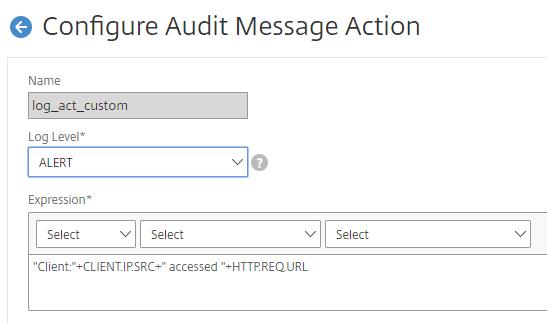 Citrix NetScaler, Custom logging – VIRTUAL-HAWK COM